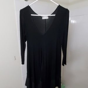 Altar'd State long black dress